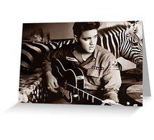 I'm Busy Elvis! Greeting Card