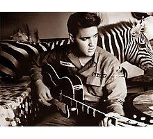 I'm Busy Elvis! Photographic Print