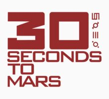 Thirty Seconds To Mars T-Shirt by razaflekis
