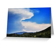 Afternoon storm Greeting Card