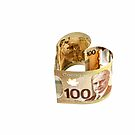 100 Canadian dollar banknote. by FER737NG