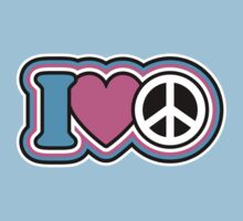 I Love Peace by Lisann
