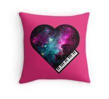 Universal Love of Music Throw Pillow
