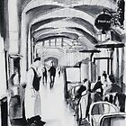 Gallery - Paris - Watercolor by nicolasjolly
