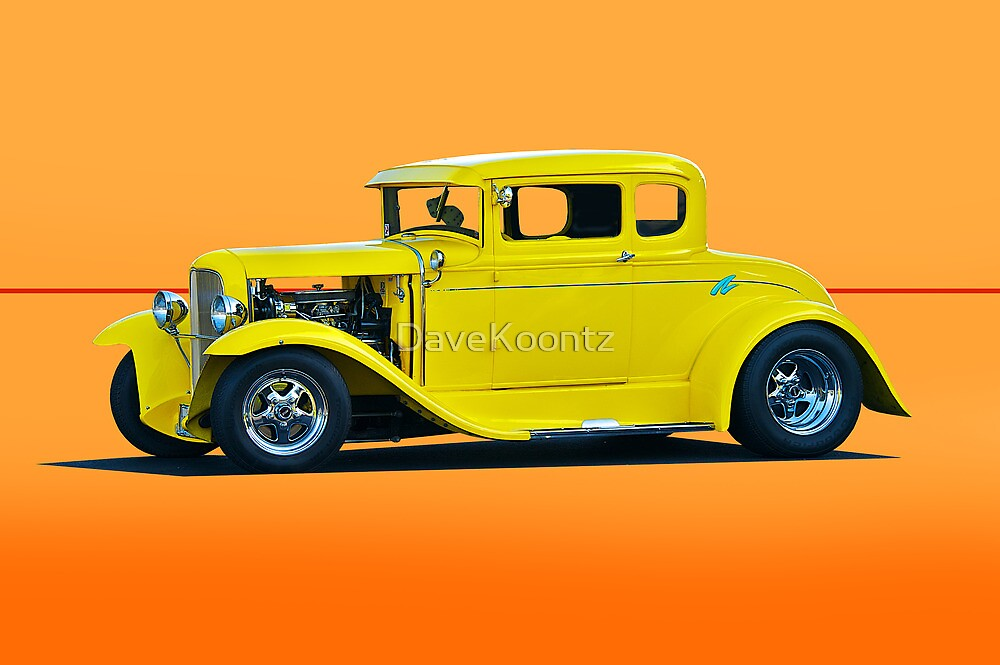 1930 Model A Coupe 118 by DaveKoontz