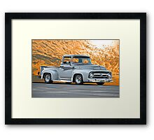 1956 Ford F100 Custom Pick-Up Truck IV Framed Print