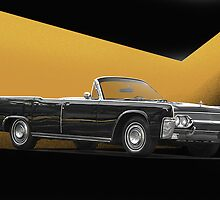 1961 Lincoln Continental Convertible by DaveKoontz