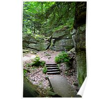 Cuyahoga Valley National Park, The Ledges Poster