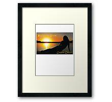 explore the shore Corpus Christi Framed Print