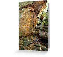Cuyahoga National Valley, The Ledges 3 Greeting Card