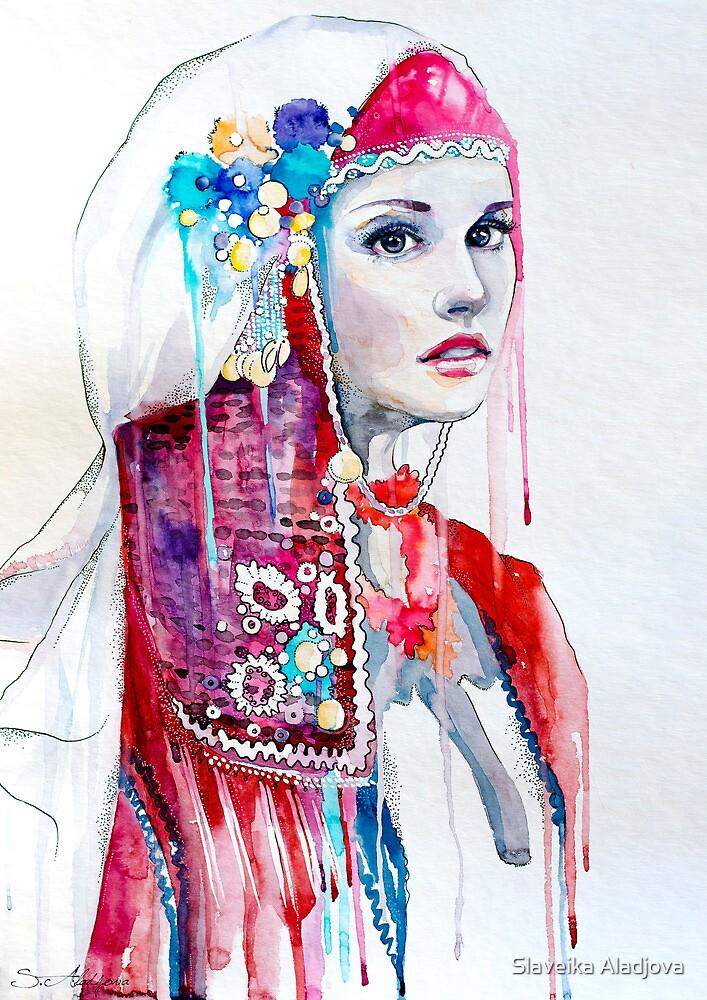 Bulgarian national costume by Slaveika Aladjova