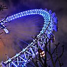 iPAD CASE The London eye a new perspective by Darren Bailey LRPS
