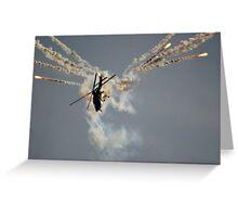 Agusta A109 Greeting Card