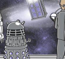 The Doctor Srikes Back Sticker