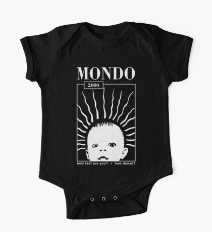 MONDO 2000 - How Fast, How Dense? One Piece - Short Sleeve