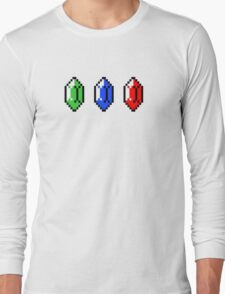 rupees (the legend of zelda) Long Sleeve T-Shirt