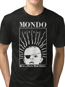 MONDO 2000 - Pirate Mind Station Tri-blend T-Shirt