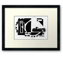 Photographer design Framed Print
