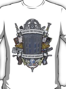 Time Lord Crest T-Shirt