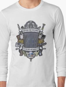Time Lord Crest Long Sleeve T-Shirt