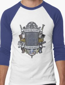 Time Lord Crest Men's Baseball ¾ T-Shirt