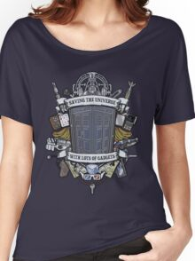 Time Lord Crest Women's Relaxed Fit T-Shirt