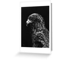 Bateluer Eagle in Ballpoint Pen Greeting Card