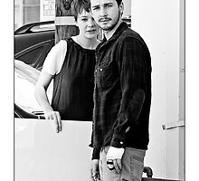 Carey Mulligan & Shia LaBeouf - Alley Crafts by Ron Dubin
