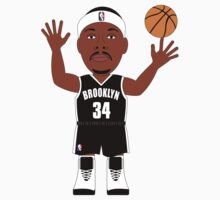 NBAToon of Paul Pierce, player of Brooklyn Nets by D4RK0