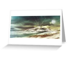 Fantasy Shoreline Greeting Card