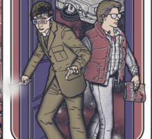Time Travelers Sticker