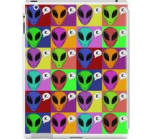 Pop Aliens iPad Case/Skin