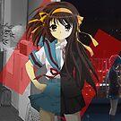 The Disappearance ofHaruhi Suzumiya  by Matthew James