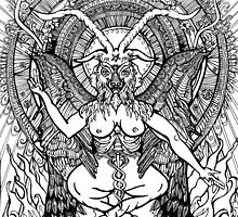 BAPHOMET by Nicola Honey