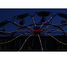 Carnival Ride 3 Photographic Print