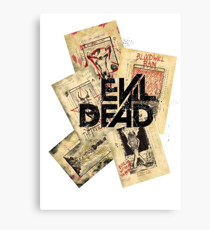 the evil dead ash vs the evil dead army of darkness  Canvas Print