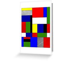 Mondrian #4 Greeting Card