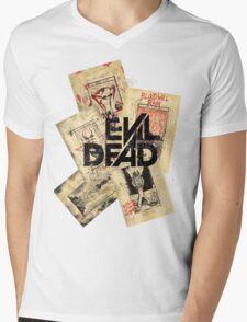 the evil dead ash vs the evil dead army of darkness  Mens V-Neck T-Shirt