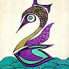 Mystic Swan by Pom Graphic Design
