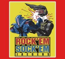 Rockem Sockem Jaegers by coinbox tees