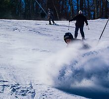 Skiing in his Own World by AlexTorres