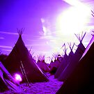 Tipi Village by KarmaSparks
