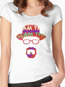 I am the danger. Women's Fitted Scoop T-Shirt