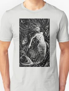 THE MERMAIDS POLLUTION TORMENT (FOR LIGHT BACKGROUND) Unisex T-Shirt