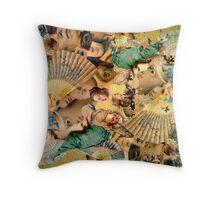 Raphael's Fan. Throw Pillow