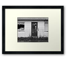 Lost the Money Framed Print