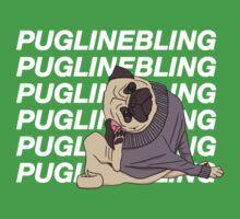 Pugline Bling Baby Tee