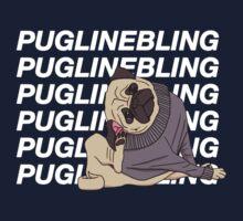 Pugline Bling One Piece - Short Sleeve