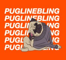 Pugline Bling Kids Tee