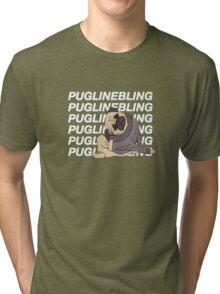 Pugline Bling Tri-blend T-Shirt